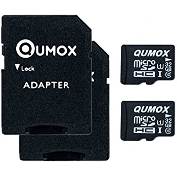QUMOX 2 x 32GB Tarjeta Micro SD de Memoria de Clase 10 UHS-I ...