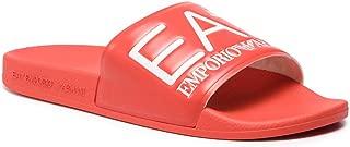 EA7 Men Slides Rosso