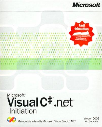 Visual c#.net 2002 standard education
