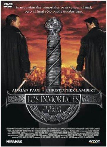 Los Inmortales: Juego Final [DVD]