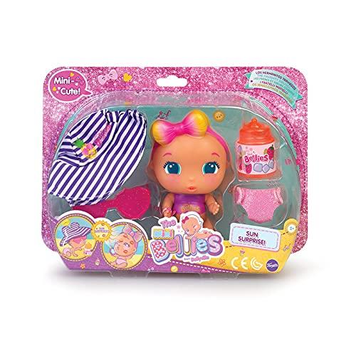The Bellies - Mini Cute Sunsurprise, Muñeco bebé para niños y niñas a Partir de 3 Años (Famosa 700015607)
