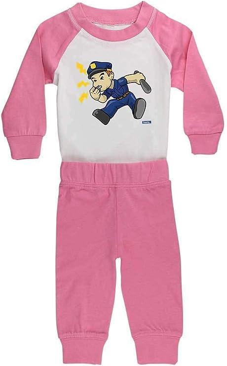 Hariz - Pijama de policía para bebé, incluye tarjeta de ...
