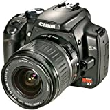 Canon Digital Rebel XT DSLR Camera with EF-S 18-55mm f3.5-5.6 Lens (Black) (OLD MODEL)