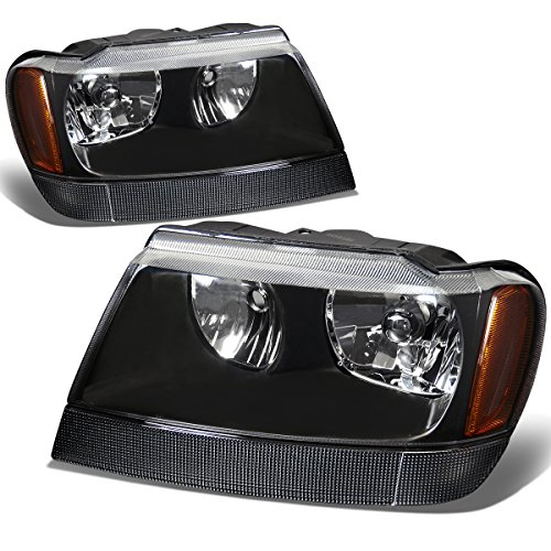 01 jeep grand cherokee headlights - 2