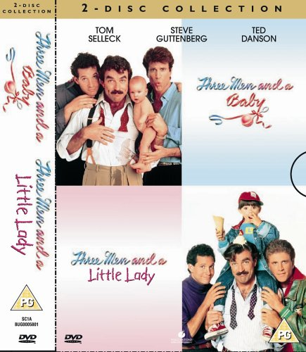 Three Men And A Baby / Three Men And A Little Lady [DVD]