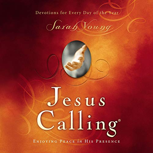 Jesus Calling Audio, with Scripture references cover art
