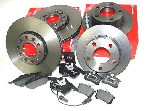 BREMBO SET Bremsscheiben und Beläge mit WaKo W209 CLK C209 vorn und hinten