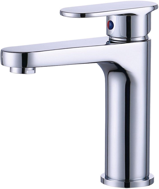 ZXY household items ZXY Copperchromethickhotcoldbasinfaucetbathroombathroom water savingsingle handlebathfaucet
