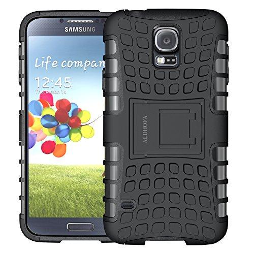 M-Fetrim-SunS5m-JJ1121 Fetrim Coque Galaxy S5 mini,S5 mini Coque Armor Support Protection Étui,anti chocs Bumper Étui Hybride protection Housse Cover pour Samsung Galaxy S5 mini Bleu
