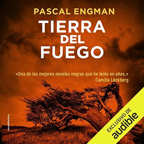 Diseño de la portada del título Tierra del fuego (Narración en Castellano)