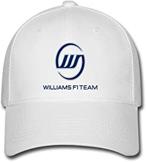 JUY New Style Custom Williams F1 Racing Adjustable Baseball Cap