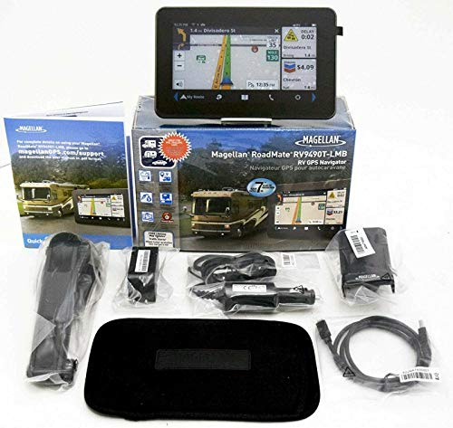"best_sales_for_you New Magellan RoadMate RV9490T-LMB 7"" RV GPS Lifetime Map & Traffic 3D Car US/CAN"