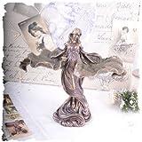 Vintage Frauenfigur tanzende Jugendstil Nymphe Shabby Chic Dekoration PALAZZO EXCLUSIVE