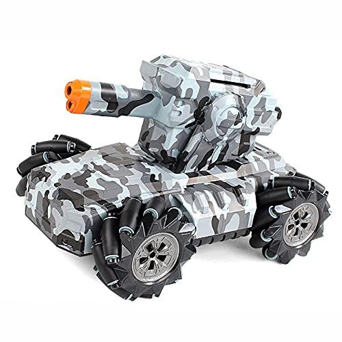DONGKUI 360 ° Giratorio Todo Terreno RC Buggy Camuflaje 4WD Coche Deriva Vehículo De Control Remoto 2.4 GHz Coches De Juguete Eléctricos para Niños Sorpresa De Cumpleaños para Niños