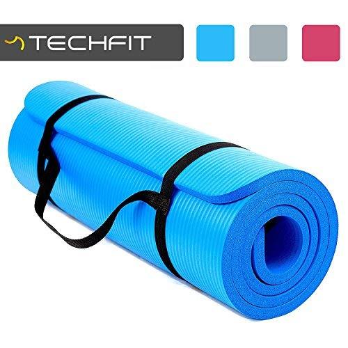 TechFit Tapis de Yoga et Fitness, Extra Epais...