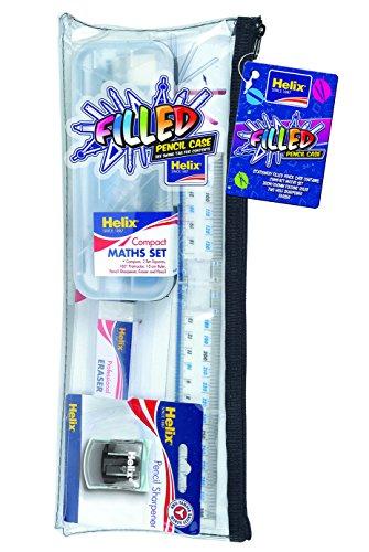 Helix 930836 Estuche grande con material de papelería