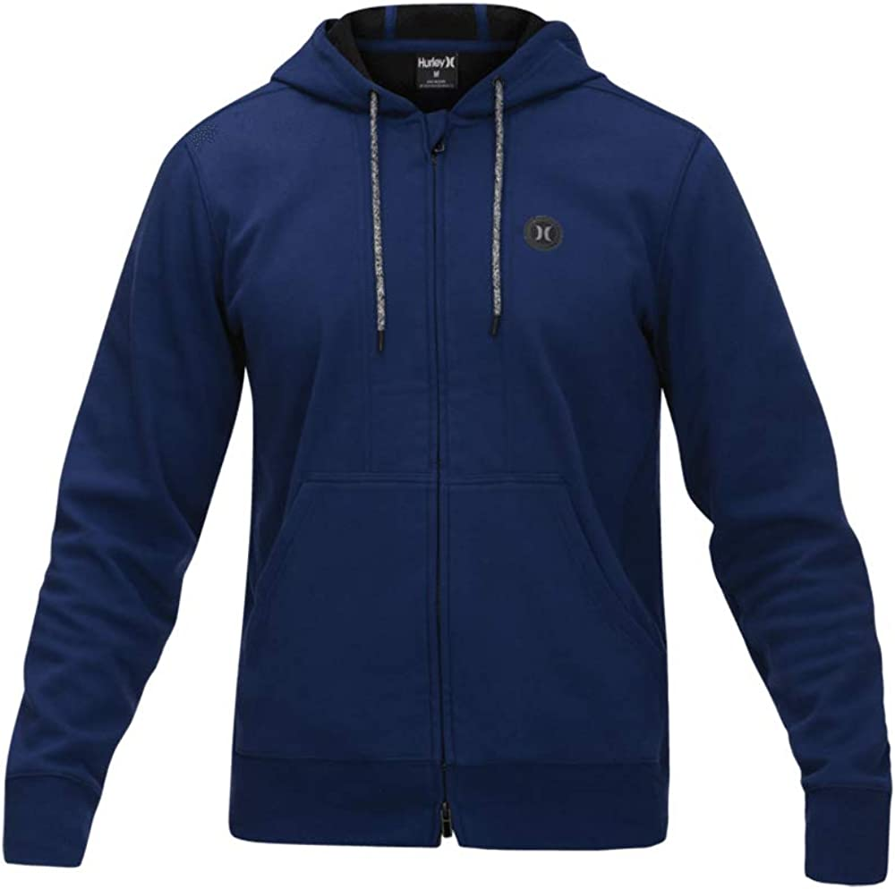 Hurley Men's Protect Bargain OFFicial store Therma Fleece Jacket Full Zip