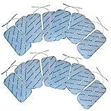 Almohadillas grandes TENS 16 electrodos para máquinas TPN, Lloyds, Tenscare, Neurotrac, etc.