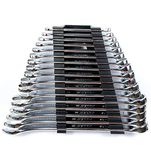 Würth Ringmaulschlüssel 17-tlg Satz 6-22 mm Gabelringschlüssel Zebra 071330141