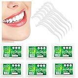 YAVO-EU 300 Piezas Hilo Dental Plástico Palillos para interdental Oral Limpieza