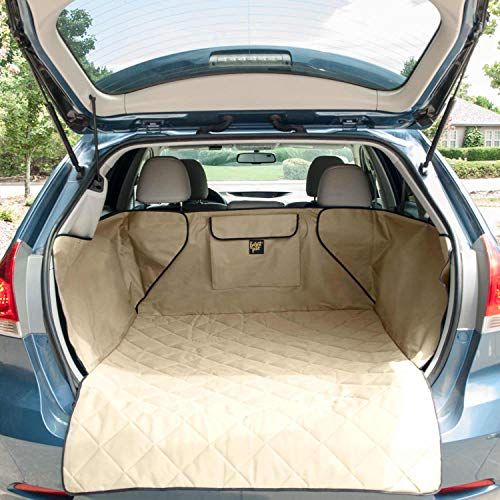 FrontPet Quilted Dog Cargo Cover for SUV Universal Fit for...
