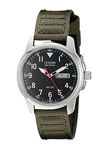 Men's Citizen Chandler Eco-Drive Canvas Watch BM8180-03E on sale for $89.20