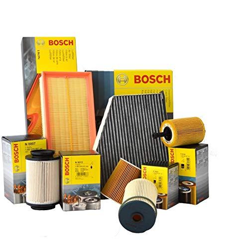 Tecneco Kit Huile Castrol Edge 5 W30 5 l 4 filtres Bosch moteurs BLS bXE bKC Golf V 1.9 TDI