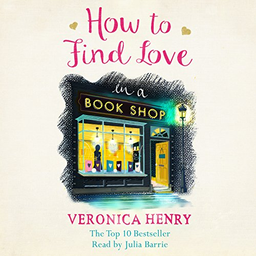 How to Find Love in a Bookshop audiobook cover art