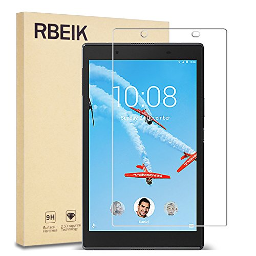 Lenovo TAB 4 8 Screen Protector Glass - RBEIK 9H Hardness Scratch Resistant Bubble Free Tempered Glass Screen Protector for Lenovo TAB 4 8 Tablet 2017 Release
