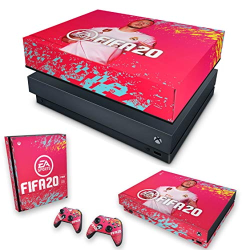 Capa Anti Poeira e Skin para Xbox One X - Fifa 20