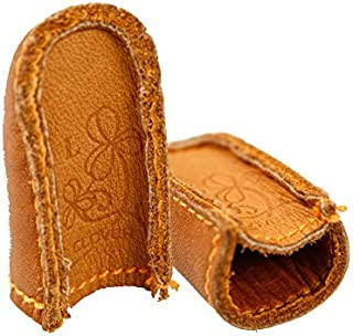 Clover Natural Fit Leather Thimble Large   306030