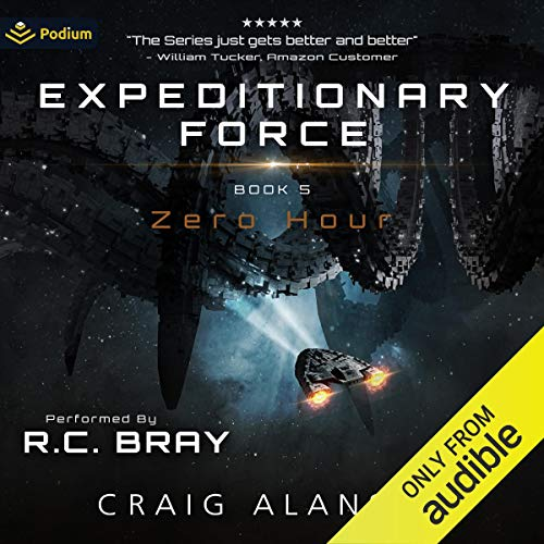 Zero Hour Audiobook By Craig Alanson cover art
