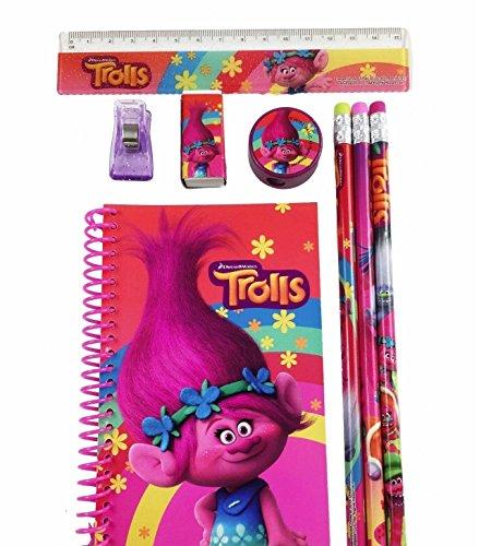 DreamWorks Trolls Poppy School Stationery Set- 1 Pack (STYLE MAY VARY)