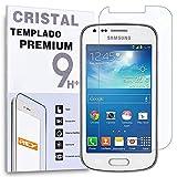Protector de Pantalla para Samsung Galaxy Trend Plus, Trend, S DUOS, S7580 Cristal Vidrio Templado...