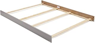 Full Size Conversion Kit Bed Rails for Baby Cache Overland & Vienna Cribs in Ash Gray