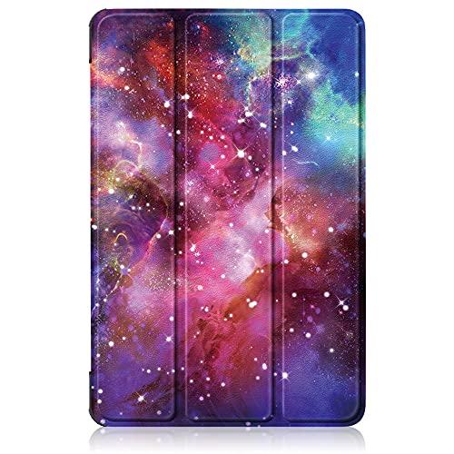 INSOLKIDON Compatible con Xiaomi mi Pad 5 Pro / Pad 5 Tablet Funda Protectora Trasera de Cuero Bumper Protección de Cuerpo Completo Funda Protectora de Cuero (Starry Sky)