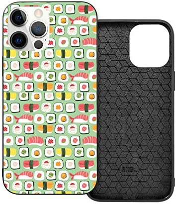 Sushi Pattern Soft Case for iPhone 12 TPU Bumper Shockproof Phone Case for 12 Pro Pro Max Silicone product image