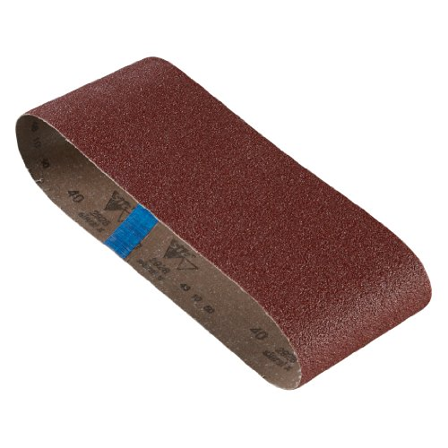 BOSCH SB6R040 3-Piece 40 Grit 4 In. x 24 In. Sanding Belts