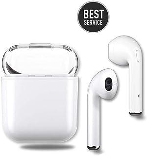 26d2f5fffe4 Auricular Bluetooth, Auricular Deportivo en el oído, reducción de Ruido  estéreo desplegable de Sonido