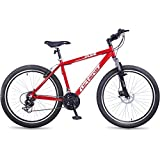 Hero Octane Dude 26T 21 Speed Mountain Cycle (Red)