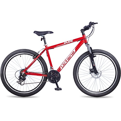 Hero Octane Dude 26T 21 Speed Mountain Cycle - Red & Black