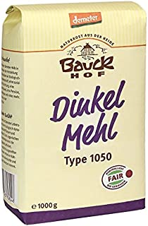 Bauckhof Bio Bauck Dinkelmehl Type 1050 3 x 1 kg