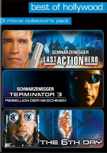 Last Action Hero/Terminator 3 - Rebellion der Maschinen/6th Day - Best of Hollywood (3 DVDs)