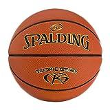 Spalding Rookie Gear - Baloncesto para interiores y exteriores, 27.5 pulgadas
