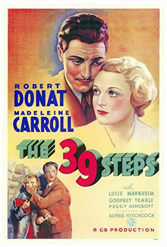 The 39 Steps POSTER Movie (27 x 40 Inches - 69cm x 102cm) (1935)