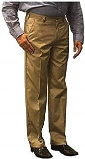 George Men's Premium Flat Front Wrinkle Resistant Flex Fabric Pants