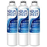 AQUACREST DA29-00020B Refrigerator Water Filter, Replacement for Samsung DA29-00020A/B, HAF-CIN/EXP, Kenmore 46-9101, DA97-08006A, RF4287HARS, Pack of 3 (package may vary)