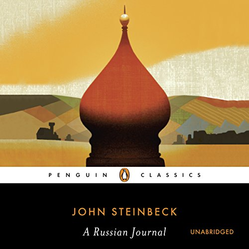 A Russian Journal audiobook cover art