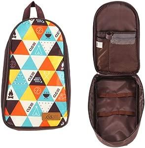 DGYAN Outdoor Picnic Bag Barbecue Cookware Storage Bag Camping Handbag Shovel Spatula Meat Fork Storage Bag