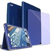 STAND(スタンド)iPad ケース強化ガラスフィルム付 PUレザー スタンド機能 iPad Air3 2019年発売 第3世代 iPad Pro10.5 インチ(兼用)【レビュー投稿でプレゼントをGETしよう】